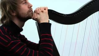 """Kolęda """"Bóg się rodzi"""" - improwizacja na harfie"""