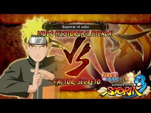 Naruto Shippuden Ultimate Ninja Storm 3 Walkthrough Full Burst Parte 15 Capitulo 4 Naruto vs Kyubi 9 colas Gameplay Español Japanese 1080p Xbox360 PS3