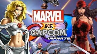 Top Ten Marvel Characters that Should be in Marvel vs Capcom Infinite