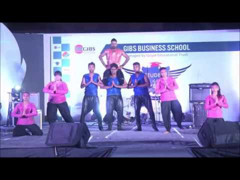 Group Dance Performance video of Student of the Year 2016 @ GIBS Business School