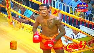 Soth Bunthy Cambodia Vs Petmaha, Thailand, Khmer Warrior Boxing Seatv Boxing 19 August 2018