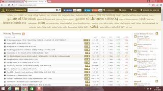 How to open kickass torrents (kat.cr) 2017