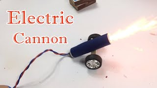 How To Make Electric Cannon At Home   Powerful CANNON   Lee Bros #8