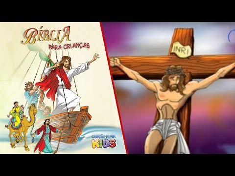 Bíblia para Crianças Jesus morreu na Cruz para nos salvar