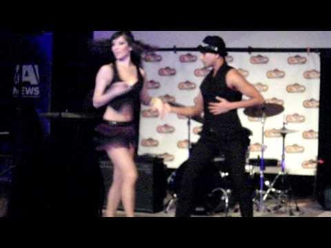 Adeesh and Michaela at Vancouver Island s Got Talent Grand Finale