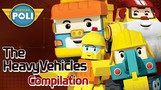 The Strong Heavy Vehicles l Robocar POLI Special