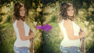 Hot model photography retouch || Cute girl snapseed editing || Dreamy effect by Raaj Emptyness Editz