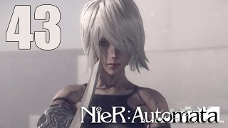 NieR: Automata - Let's Play Part 43: Robo-Village Sidequests