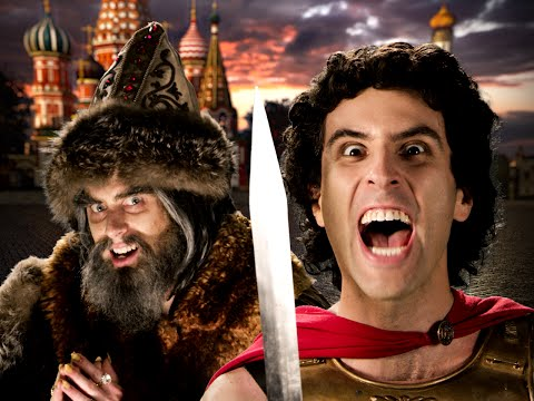 Alexander the Great vs Ivan the Terrible Epic Rap Battles of History Season 5