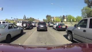 Driving around Santa Clarita California