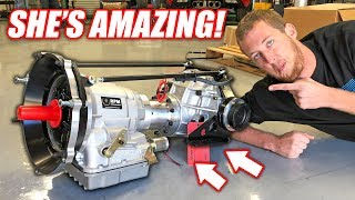 The Auction Corvette's NEW Transmission is INSANE! (Made With Freedom)