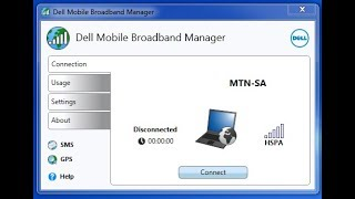 How to install Sim card drivers in Dell Laptop.