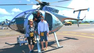 Helicopter Ride Over Volcano! | The Big Island, Hawaii Travel Vlog