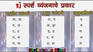 वर्णविचार - मराठी व्याकरण | Varnavichar Marathi grammar