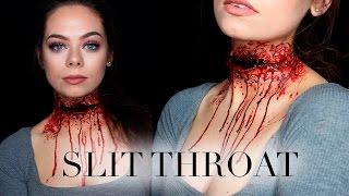 SLIT THROAT - SFX Makeup Tutorial
