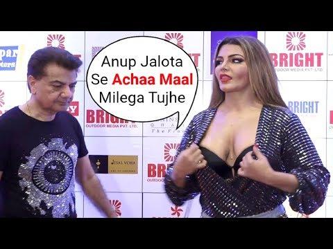 Xxx Mp4 Rakhi Sawant FLIRTS With Jasleen Matharu Father At Bright Awards 2018 3gp Sex