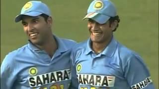 Pakistan vs India 2004 Samsung Cup 4th ODI Match Highlights