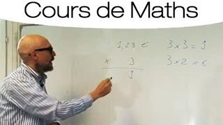 Faire une multiplication sans calculatrice