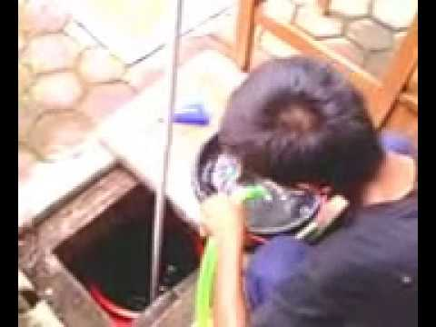 Uji coba pompa air tanpa listrik