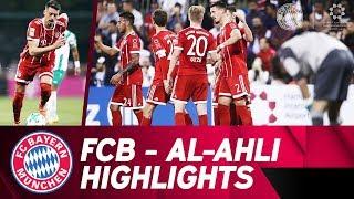 1st goal from Sandro Wagner! ⚽ FC Bayern - Al-Ahli 6:0   Highlights Friendly Match