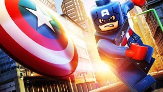 LEGO Marvel Super Heroes 3D The Movie Game 2 - Captain America, Fantastic Four and Spiderman