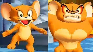 Tom and Jerry War of the Whiskers / Jerry and Monster Jerry Team Returns / Cartoon Games Kids TV