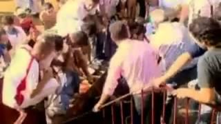 حمله گاو وحشی به تماشاگران
