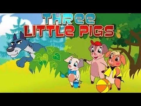 The 3 Little Pigs - Cartoon Movie In Hindi
