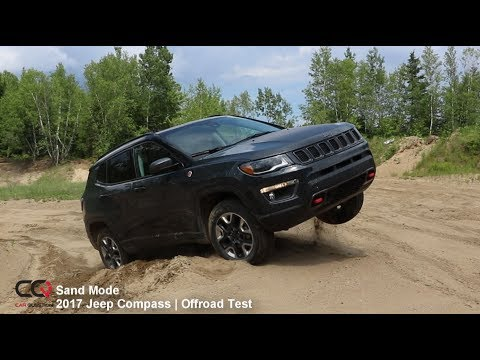 4x4 Sand Offroad Test 2017 2019 Jeep Compass Trailhawk Review Part 9 10