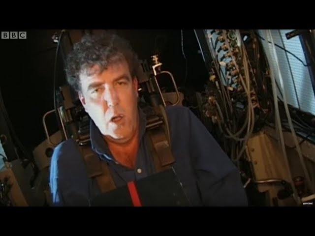 Jeremy Clarkson Feels Extreme G-Force! | Top Gear | BBC