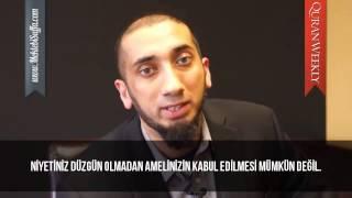 En Sevdiğim Dua [Nouman Ali Khan] [Türkçe Altyazılı | Mekteb-i Suffa] [Türkçe Altyazılı]