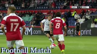 Denmark vs Germany 1-1 All Goals & Full Highlights HD 06-06-2017
