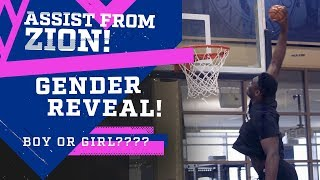 ZION SHUTS DOWN GENDER REVEAL GAME