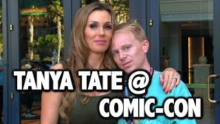 Joe Interviews Tanya Tate at Comic-Con (EXTRA CLIPS)
