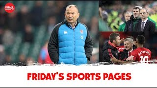 The Sports Pages: Eddie Jones at it again, chasing Keane, satisfying finishes