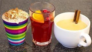 YUMMY HOT DRINKS! Cranberry Cider ★ Mint Hot Chocolate ★ Chai Latte #Holidaze