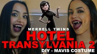 Hotel Transylvania 2  - DIY Costume for Mavis - Merrell Twins