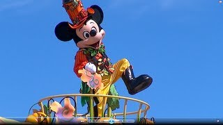 Happy Halloween Harvest parade 1st day at Tokyo Disneyland (Sep.9.2013)