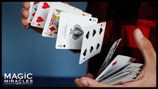 Card Spring // Návod na kartový vodopád