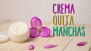 Crema quitamanchas Casera - Receta Natural - Quita Manchas y Marcas de Acné - Catwalk