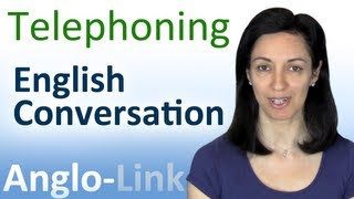 Telephoning - English Conversation Lesson
