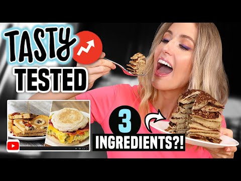 I Tried TASTY BUZZFEED BREAKFAST HACKS What ACTUALLY WORKED
