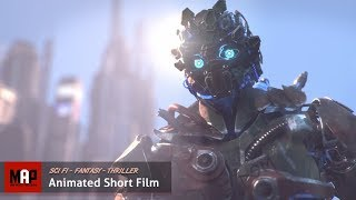 CGI VFX Animated Short Film ** CROSSBREED ** SciFi Thriller by Objectif3d Team