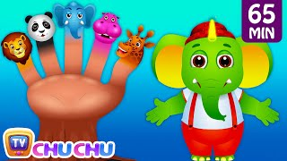 Five Little Fingers, Finger Family Song & Many More Popular Nursery Rhymes and Kids Songs | ChuChuTV