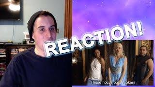 MALEFICENT vs DAENERYS: Princess Rap Battle REACTION