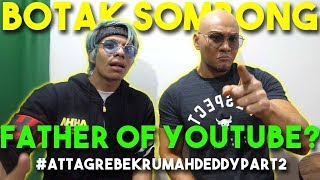 Tempat Rahasia DEDDY Corbuzier! Father of Youtube? #AttaGrebekRumah Deddy Part 2