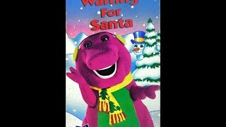 Barney - Waiting for Santa [1990] (1993 VHS) full in HD