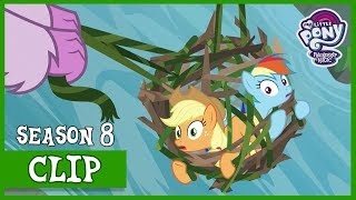 The Young 6 Save Applejack and Rainbow (Non-Compete Clause) | MLP: FiM [HD]