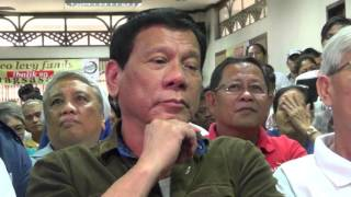 Duterte's campaign starts with 'not for sale' tag