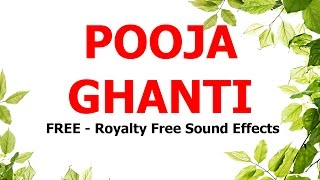 FREE - Royalty free Sound effects / POOJA GHANTI